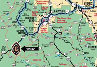 Deadwood Real Estate | Greenview Estates, South Dakota on